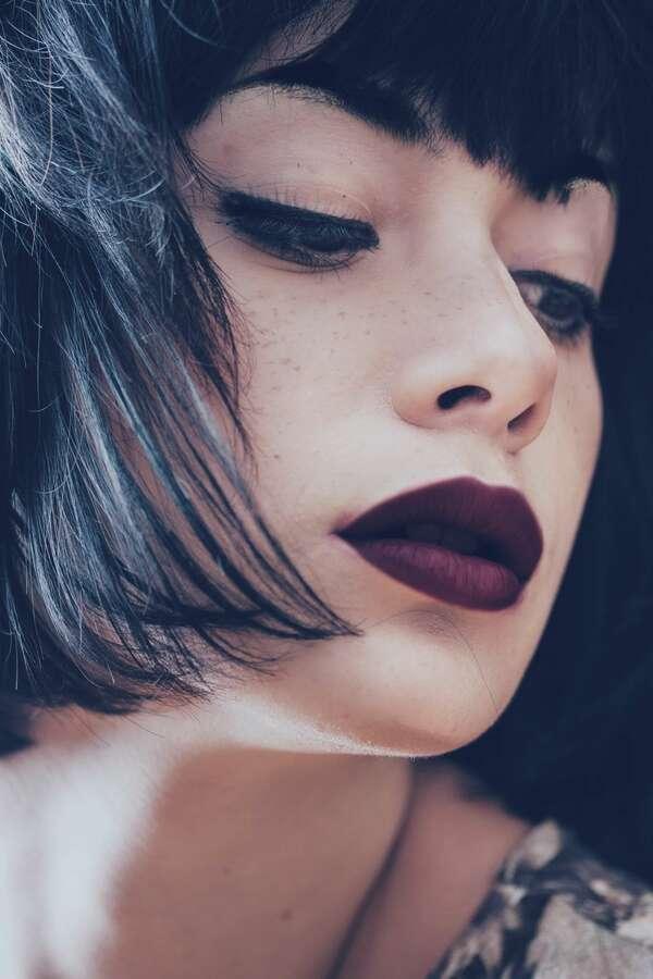 cómo pintar labios