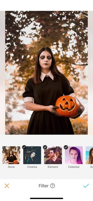 Halloween : effrayez vos amis avec un filtre !01
