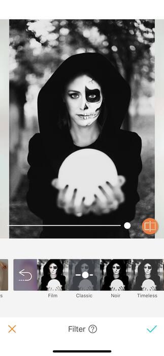 Halloween : effrayez vos amis avec un filtre !10