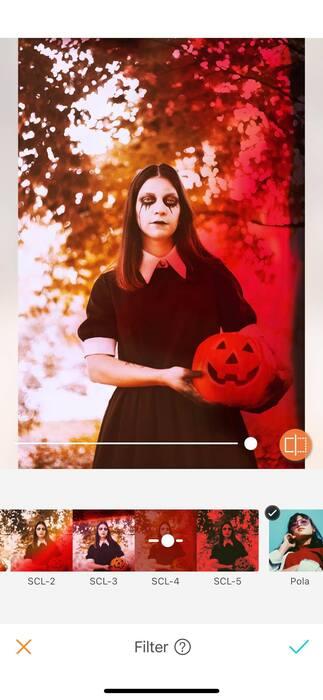 Halloween : effrayez vos amis avec un filtre !03
