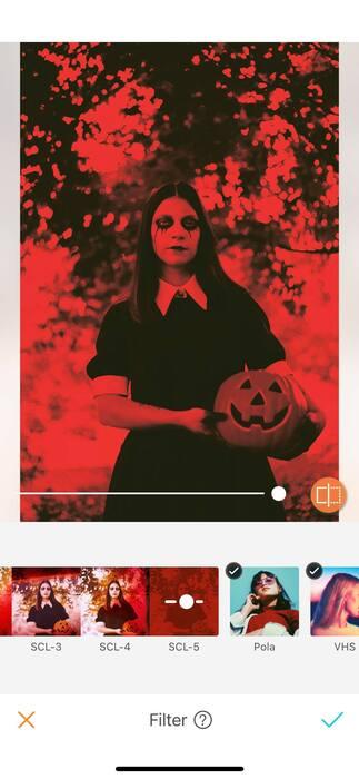 Halloween : effrayez vos amis avec un filtre !04