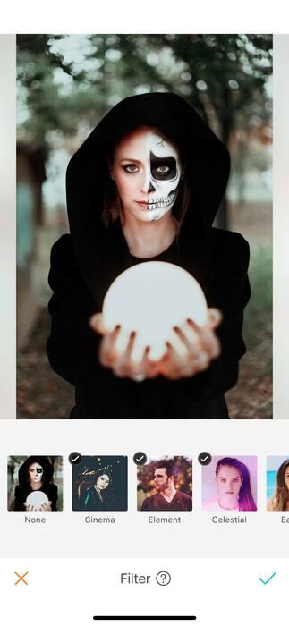 Halloween : effrayez vos amis avec un filtre !08