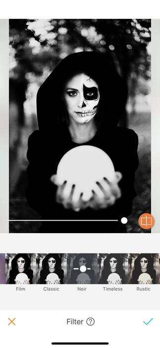 Halloween : effrayez vos amis avec un filtre !09