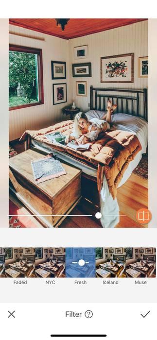 Photos à la maison : une pièce, une idée et un filtre.22