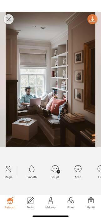 Photos à la maison : une pièce, une idée et un filtre.51