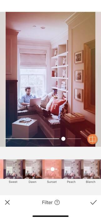 Photos à la maison : une pièce, une idée et un filtre.52