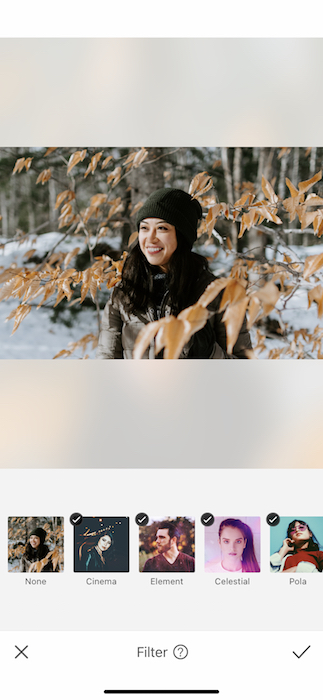 Perfect filters for your winter pic 02