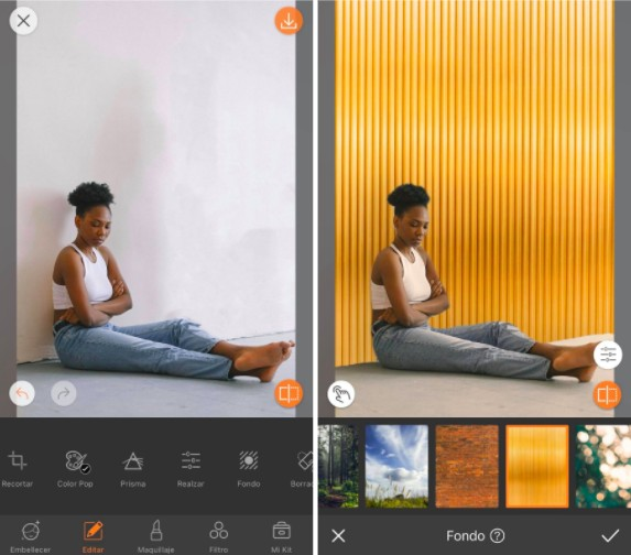 Tips para eliminar los malos recuerdos de tu fotos con la herramienta Fondos