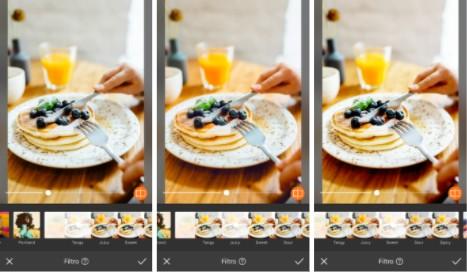 fotografía de un brunch con hotcakes y blueberries