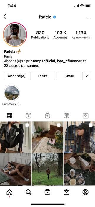 Instagram : les retouches tendance en 202101