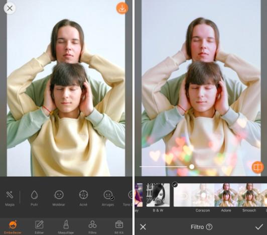 Conoce LOVE: los filtros más cute de AirBrush 01
