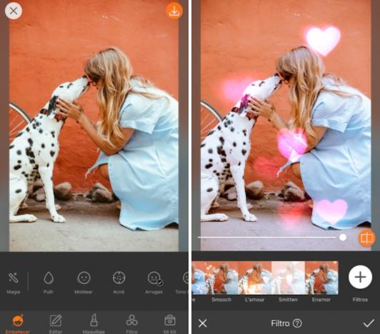 Conoce LOVE: los filtros más cute de AirBrush 05