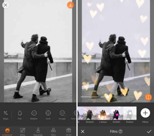 Conoce LOVE: los filtros más cute de AirBrush 06