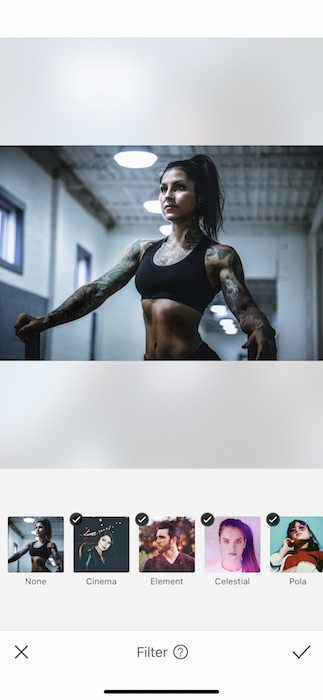Edits Inspired by Powerful Women - Physically 8