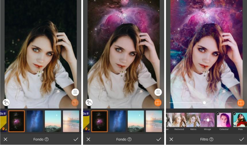 Edits y fotos artsy con AirBrush 06
