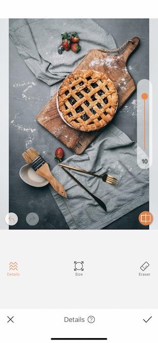 blueberry pie edit on Pi Day