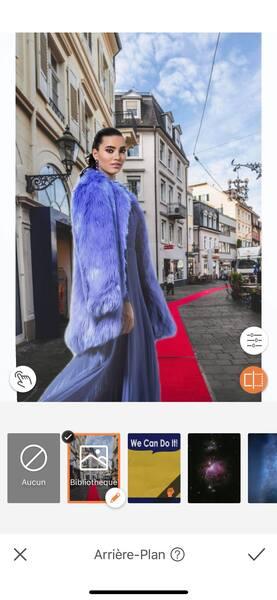 Un look de Fashion Week avec AirBrush14