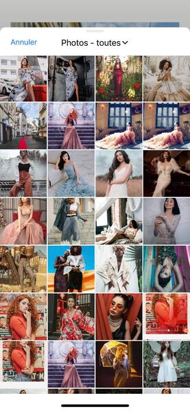 Un look de Fashion Week avec AirBrush15
