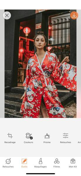 Un look de Fashion Week avec AirBrush03