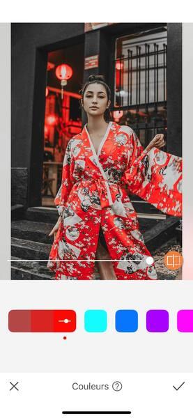 Un look de Fashion Week avec AirBrush04