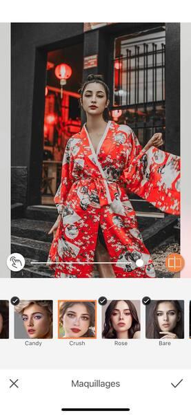 Un look de Fashion Week avec AirBrush05