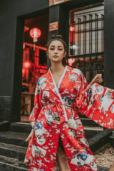 Un look de Fashion Week avec AirBrush06