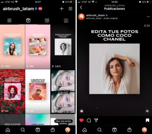 reels para Instagram