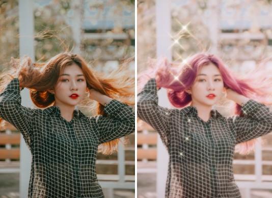 Cómo editar tus fotos estilo BTS