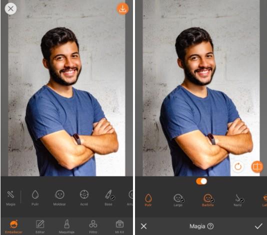Hombre con los brazos cruzados y sonriendo a la foto.