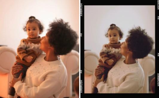 fotografías vintage con mamá