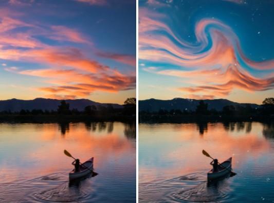 cielos mágicos