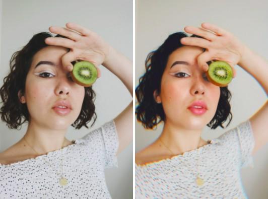 fotos con frutas