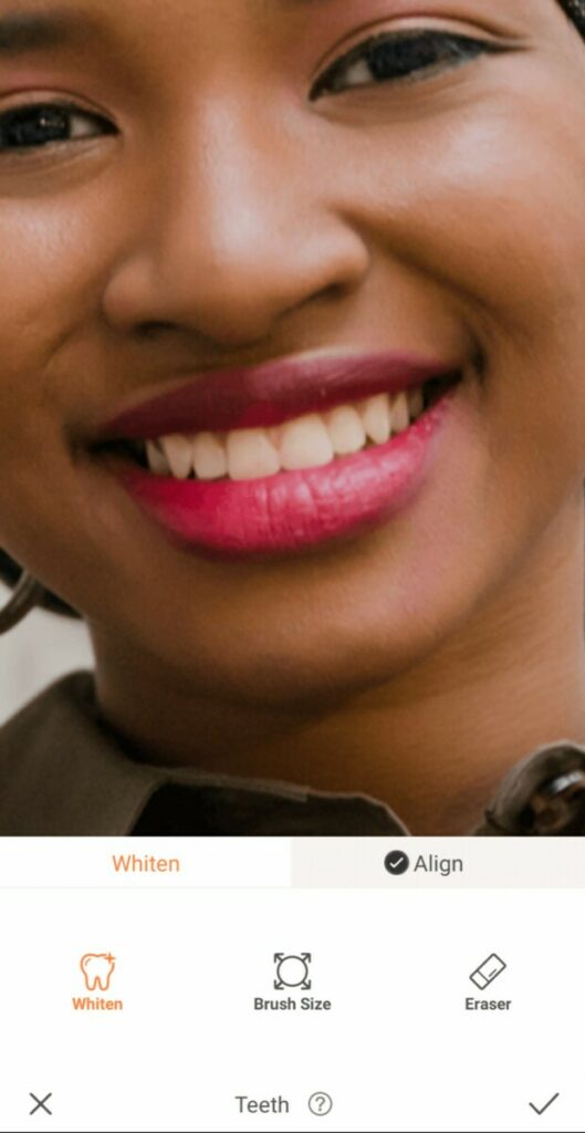 closeup of mouth with pink lipstick