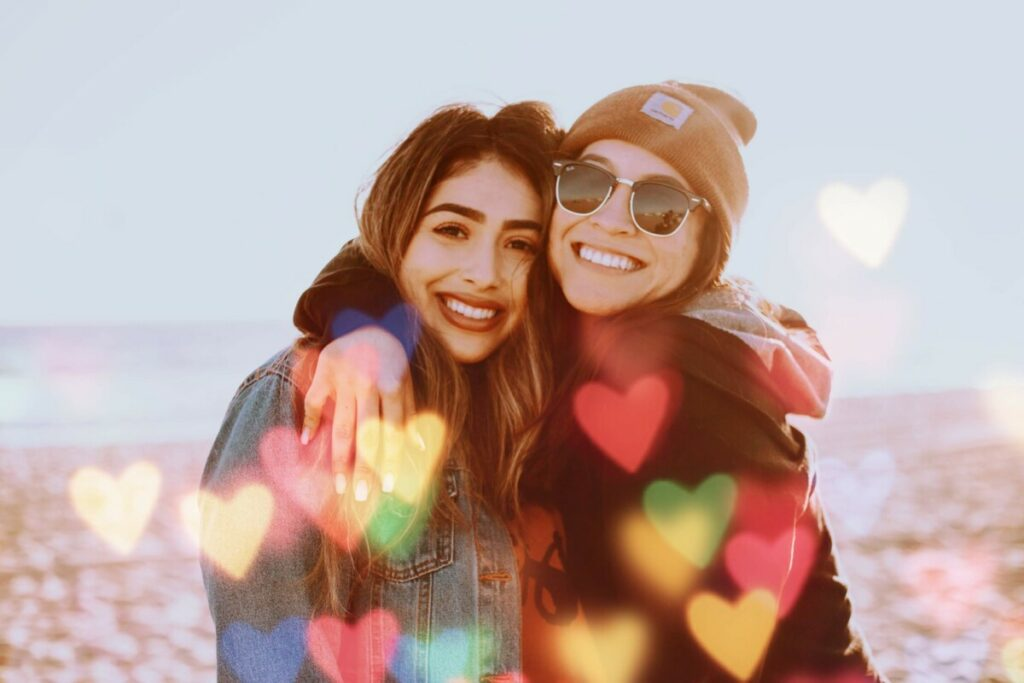 Best Friends Day with AirBrush Love Filter