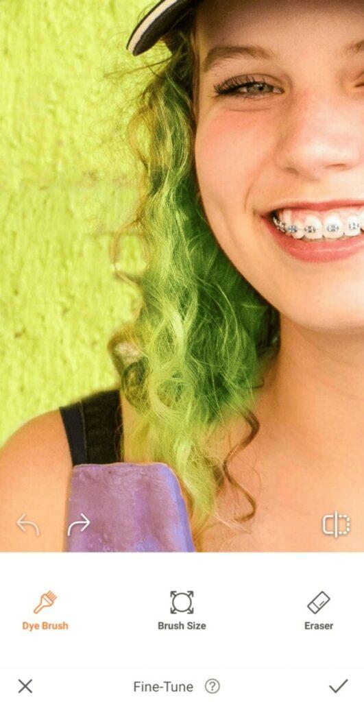 AirBrush tools - hair dye