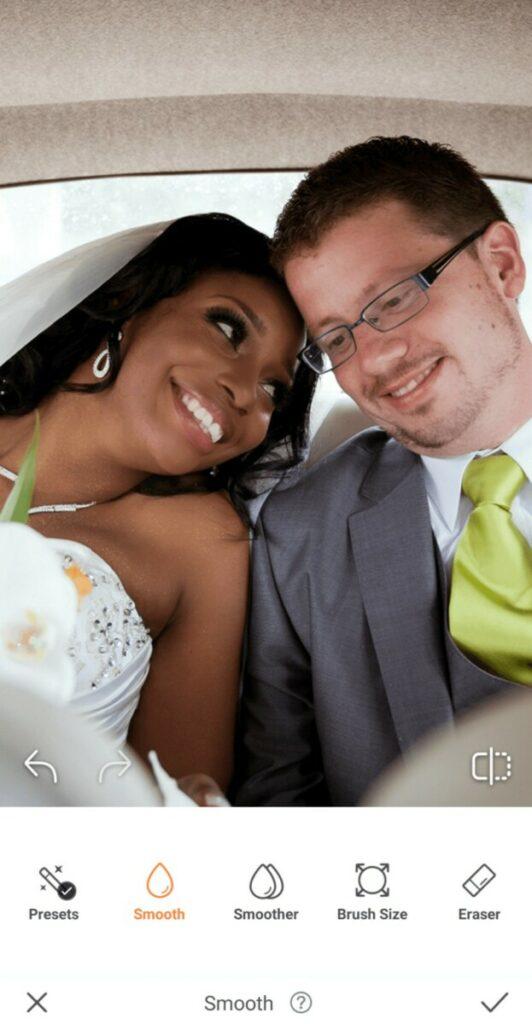 Wedding photos - bride and groom