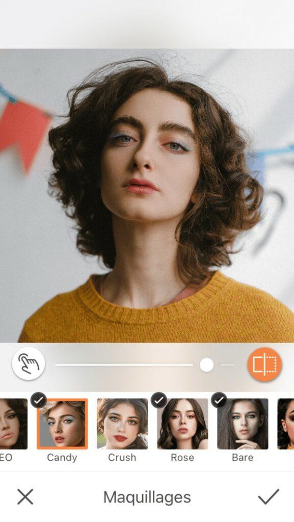 Un selfie 8 maquillages