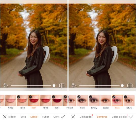 maquillajes de otoño