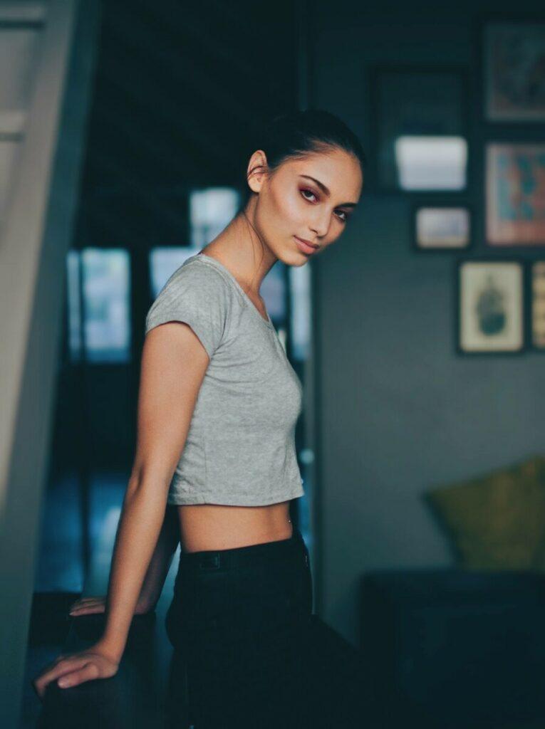 AirBrush edit using Enhance, Makeup, Bokeh and Filter