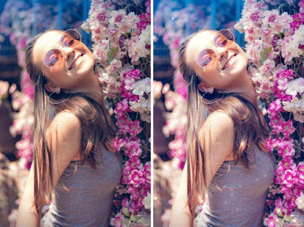 Regina George Means Girls edit with Diamond filter